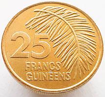 Гвинея 25 франков 1987