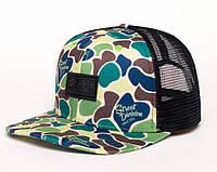 Молодежная камуфляжная кепка, чоловіча кепка Urban Planet TRUCKER СAMO D