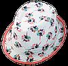 Шляпа детская челентанка комби одуванчики