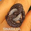 Эксклюзивное серебряное кольцо, фото 3