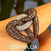Эксклюзивное серебряное кольцо, фото 2