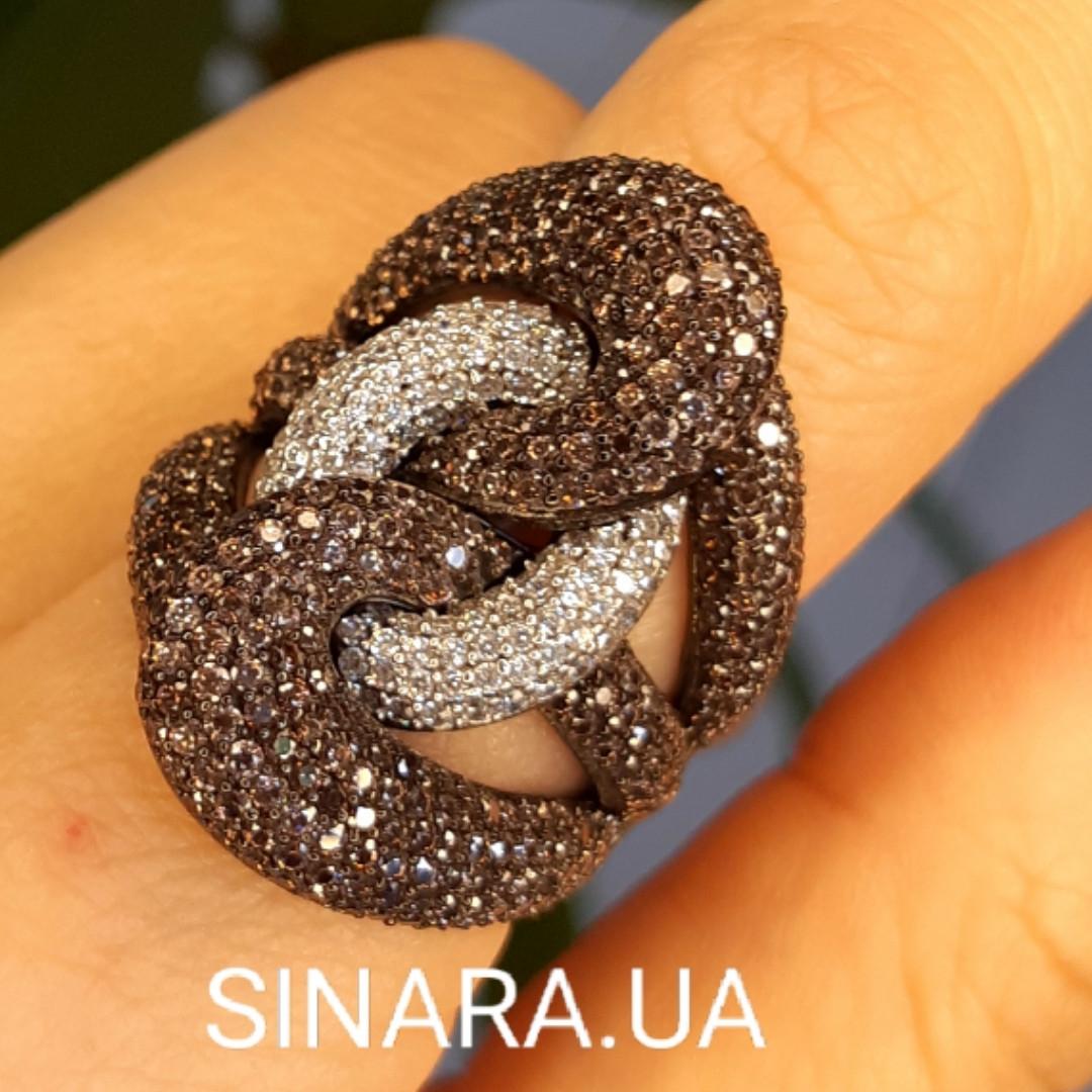 Эксклюзивное серебряное кольцо