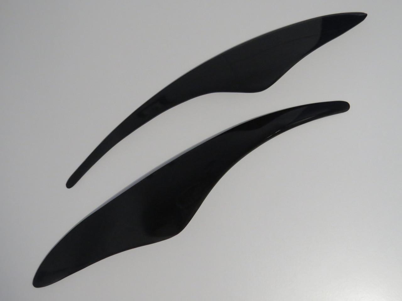 Ресницы AV Дэу Ланос ЗАЗ Сенс тюнинговые накладки на автомобильные фары Daewoo Lanos ZAZ Sens