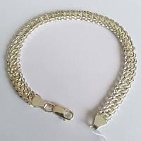 Универсальный браслет из серебра Цепной, 22 размер, фото 1