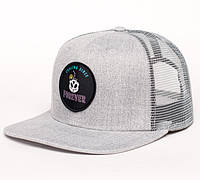 Молодежная серая кепка, чоловіча кепка Urban Planet TRUCKER MEL