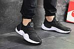 Чоловічі кросівки Nike Air Huarache E. D. G. E (чорно-білі), фото 3
