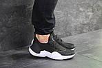 Чоловічі кросівки Nike Air Huarache E. D. G. E (чорно-білі), фото 2