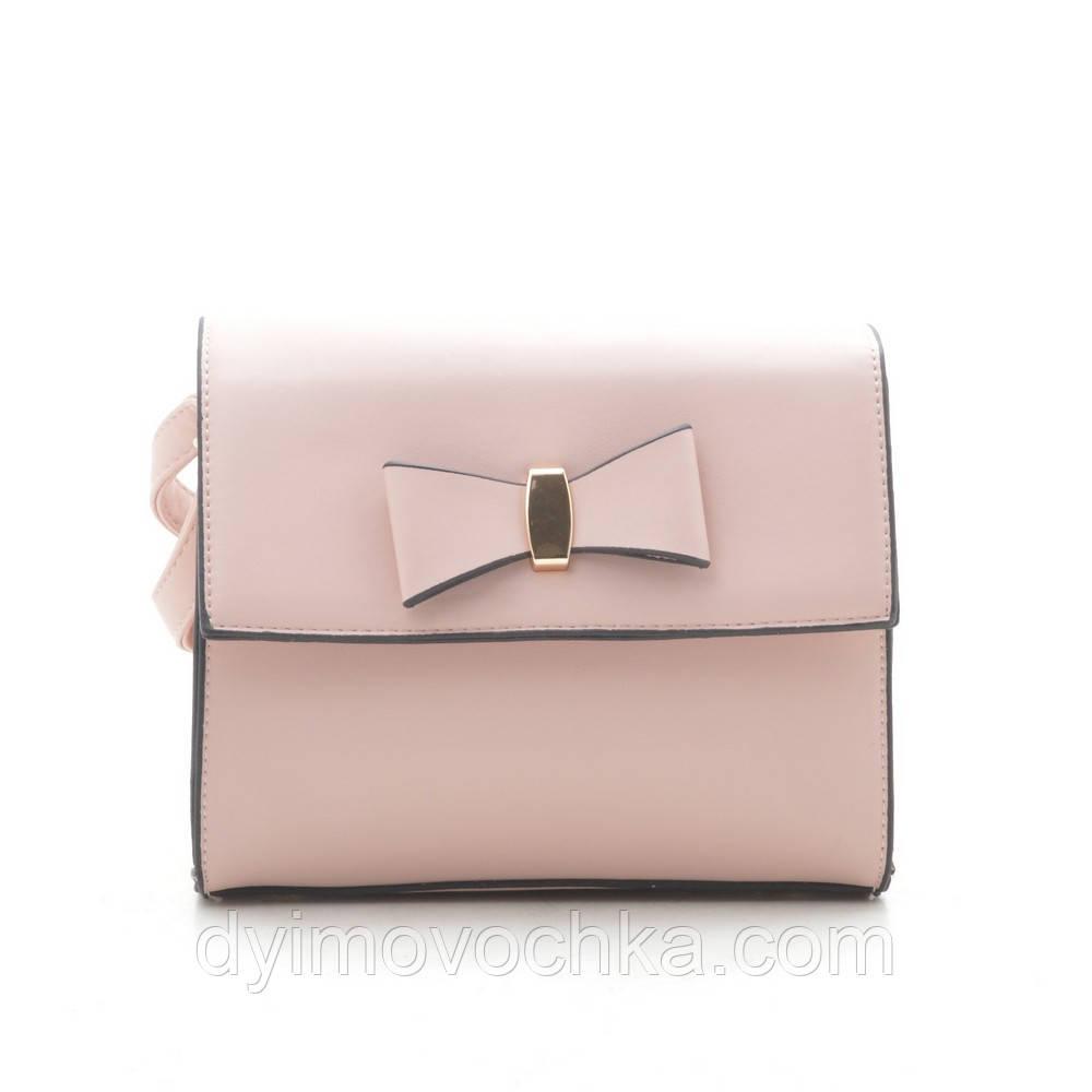 Клатч LoveDream F-366 розовый, кожзам