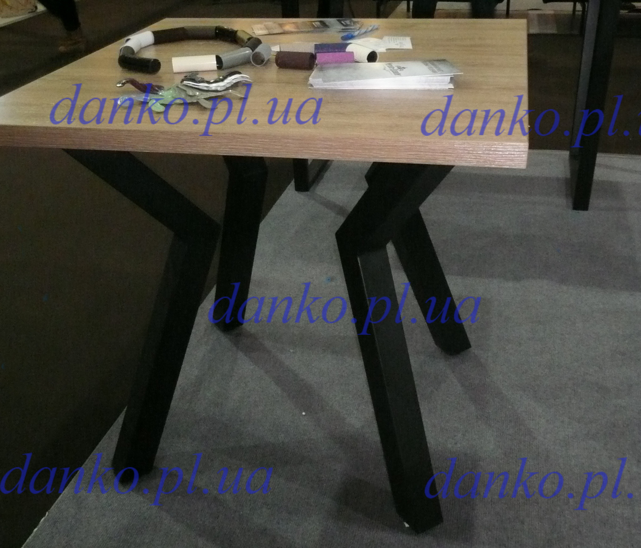Стол кофейный Свен-4 80*80 от Металл дизайн