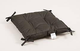 Подушка на стул Lotus - Optima с завязками хаки