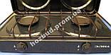 Плита газовая настольная Элна 01-П (ПГ2-Н с крышкой), фото 2