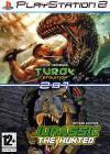 Сборник игр PS2: Jurassic The Hunted / Turok Evolution