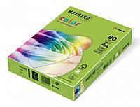 Цветная офисная бумага Maestro Color  MA42  Spring Green (ср/зеленый) А4 80г/м 500л
