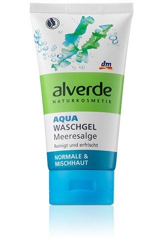 Alverde Гель для умывания с Морскими водорослями Aqua Waschgel Meeresalge 150ml