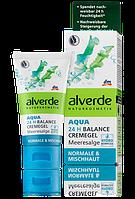Alverde увлажняющий крем-гель с Морскими Водорослями Aqua 24h Balance Cremegel Meeresalge 50ml
