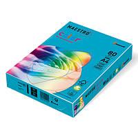 Цветная офисная бумага Maestro Color  AB48  Aqua Blue (синий) А4 80г/м 500л