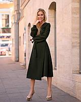 Зеленое Платье на запах