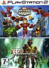 Сборник игр PS2: Marvel Super Hero Squad / Bionicle Heroes