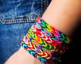 """Набор для плетения Rainbow Loom Bands """"Сердце"""" 4200 резиночек трехъярусный., фото 3"""