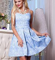 Корсетное платье | Bonjour jd синий
