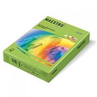 Цветная офисная бумага Maestro Color  LG46 Lime Green (зеленый) А4 160г/м 250л
