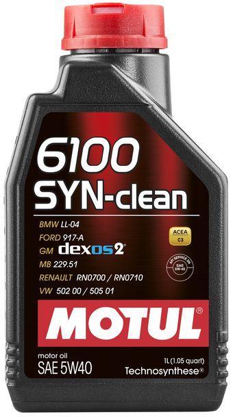 854211/6100 SYN-CLEAN SAE 5W40 (1L)/107941