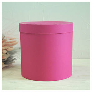 Шляпная круглая коробка d= 20 h=20 см