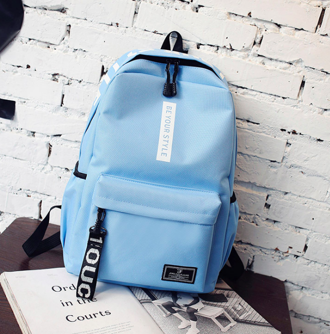 Рюкзак городской молодежный Be Your Голубой