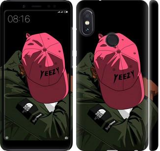 """Чехол на Redmi Note 5 Pro logo de yeezy """"3995c-1353-328"""""""