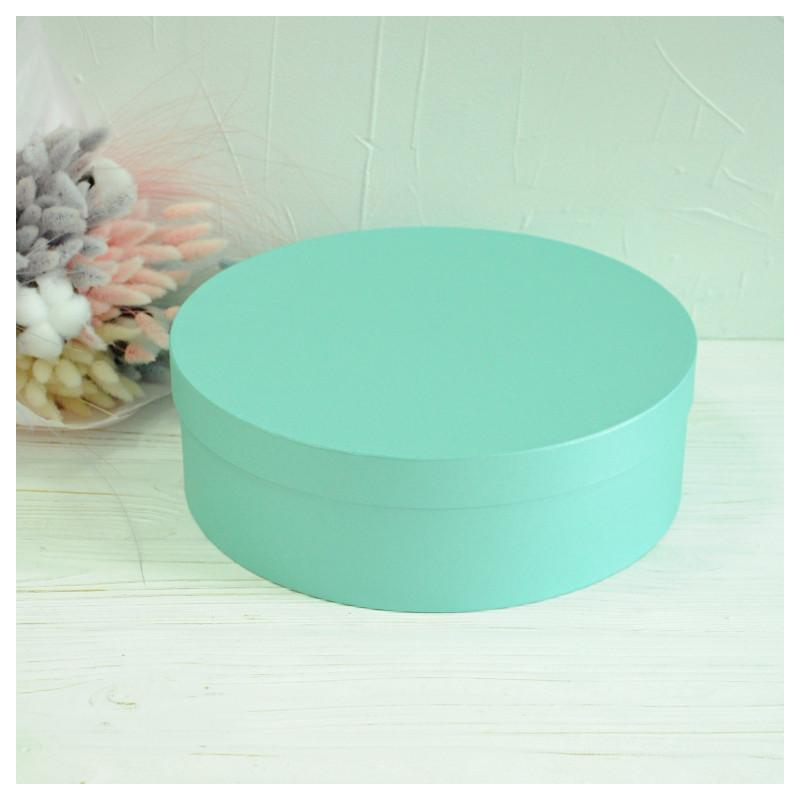 Капелюшна кругла коробка d= 31 h=10 см