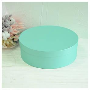 Шляпная круглая коробка d= 31 h=10 см