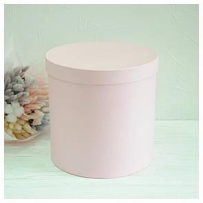 Шляпная круглая коробка d= 31h=25 см