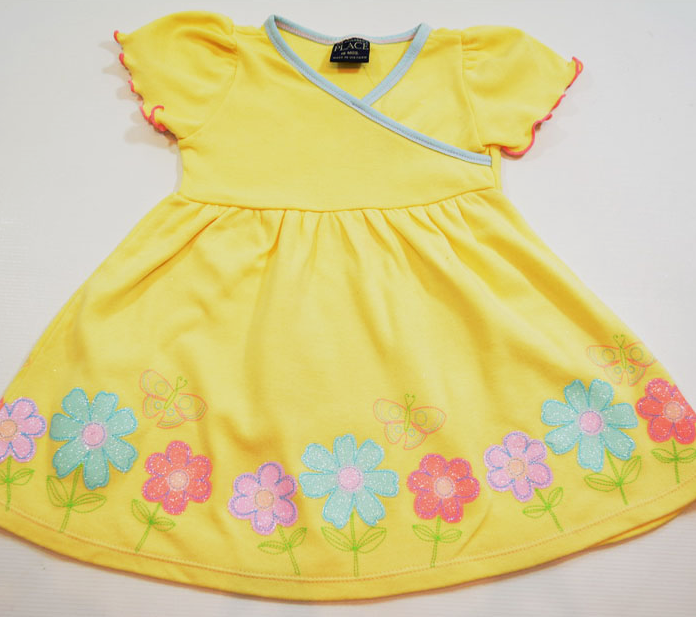 Платье детское для девочки трикотажное