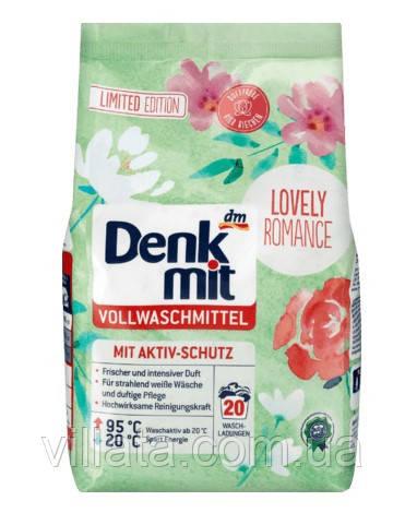 Стиральный порошок для белого белья Denkmit Vollwaschmittel Lovely Romance 1.35 kg