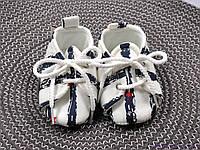 Пинетки для детей до года, полосатые со звездами из хлопка, фото 1