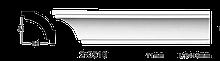 Карниз потолочный гладкий Classic Home 2-0510, лепной декор из полиуретана