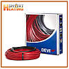 Теплый пол DEVI двухжильный кабель DEVIflex 18T 15м-2 кв.м