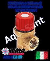 """Предохранительный клапан ICMA 1/2"""" в.в. 2,5 BAR мембранный арт.241"""