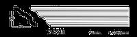 Карниз(плинтус) потолочный гладкий Classic Home 2-0511, лепной декор из полиуретана