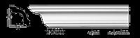 Карниз(плинтус) потолочный гладкий Classic Home 2-0520, лепной декор из полиуретана