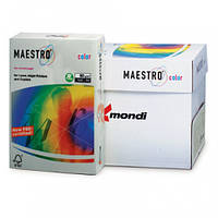 Цветная офисная бумага Maestro Color GR21  Grey (серый) А4 80г/м 500л
