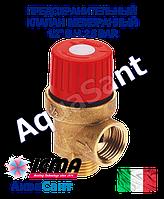"""Предохранительный клапан ICMA 1/2"""" в.н. 2,5 BAR мембранный арт.242"""
