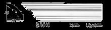 Карниз потолочный гладкий Classic Home 2-0540, лепной декор из полиуретана