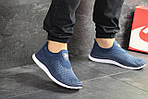 Мужские кроссовки Nike Free Run 3.0 ( сине-белые ) , фото 3