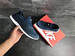 Мужские кроссовки Nike Free Run 3.0 ( сине-белые ) , фото 5