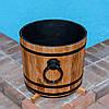 Кадка деревянная для растений 15 литров из дуба