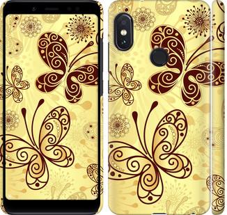 "Чехол на Redmi Note 5 Pro Красивые бабочки ""4170c-1353-328"""