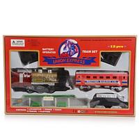 """Железная дорога игрушечная """"UnionExpress"""" красный (12pcs), фото 1"""