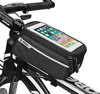 Сумка на раму велосипеда с отделом для смартфона ВС-100-20