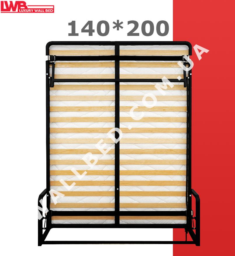Вертикальная откидная кровать 140*200 см